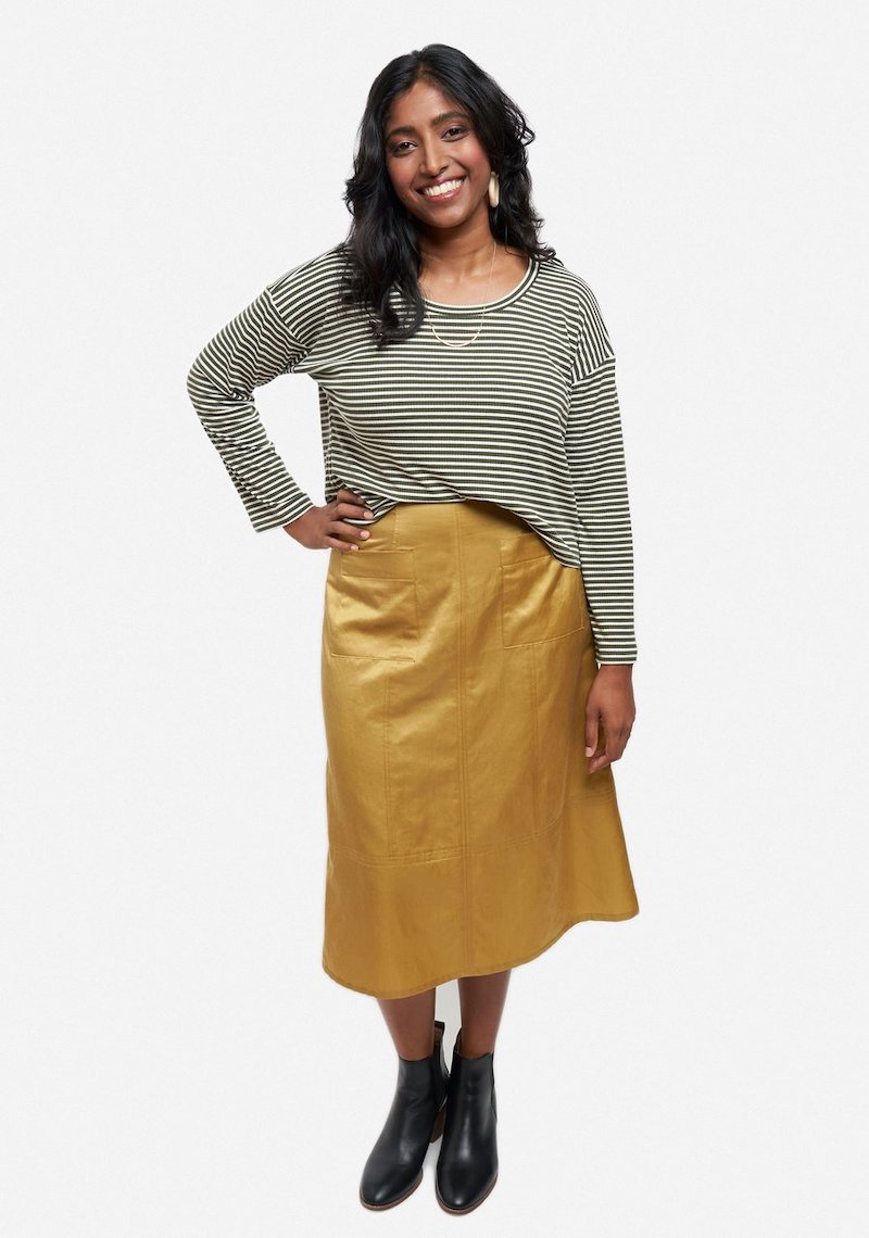 Reed Skirt Pattern Size 0-18 by Grainline Studio