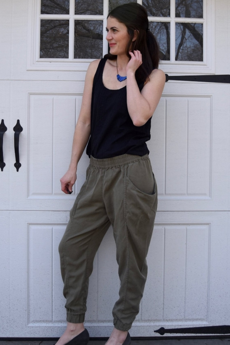 Arenite Pants Sewing Pattern - Sew Liberated