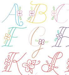 Monograms - Sublime Embroidery Transfer
