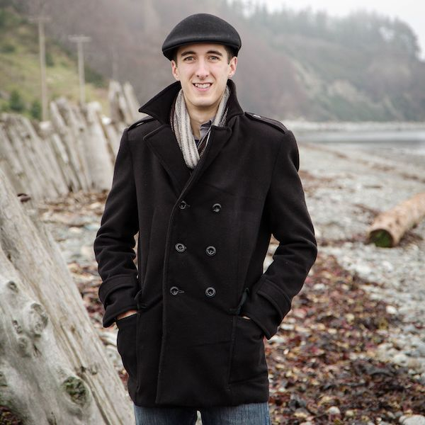 Goldstream Peacoat Pattern By Thread Theory Designs
