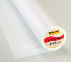 Vilene Easy Fuse Ultralight Iron-On Interfacing 90cm X 25 Metre - White