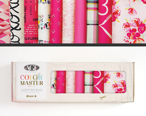 AGF Colormaster Fat Quarter Collectors Set - Berry Valentine Edition