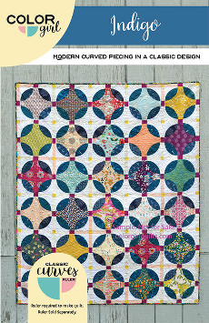 Indigo Quilt Pattern - Color Girl