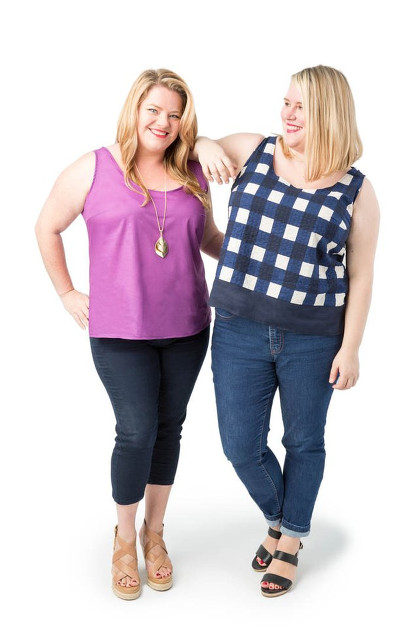 Springfield Top Pattern - Cashmerette Patterns