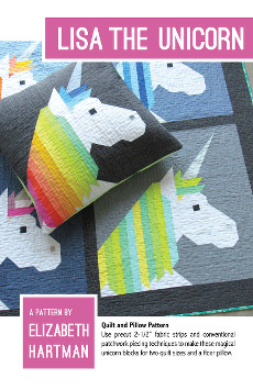 Lisa the Unicorn Quilt Pattern By Elizabeth Hartman
