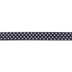 Dark Grey Foldover Elastic Spot - 16mm X 25m