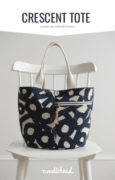 Crescent Tote - Noodlehead Pattern