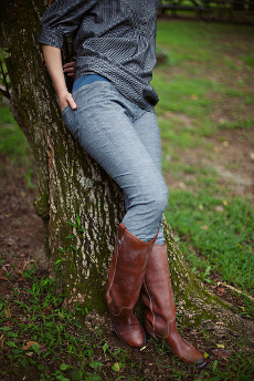 Simple Skinny Jeans Pattern - Sew Liberated
