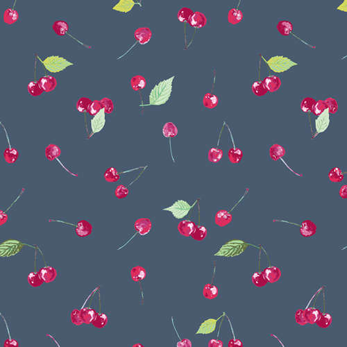 Cherry Picking Cotton From Floralish By Katarina Roccella