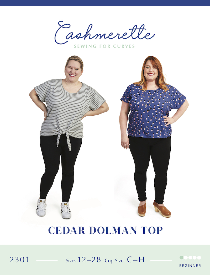 Cedar Dolman Top Pattern by Cashmerette
