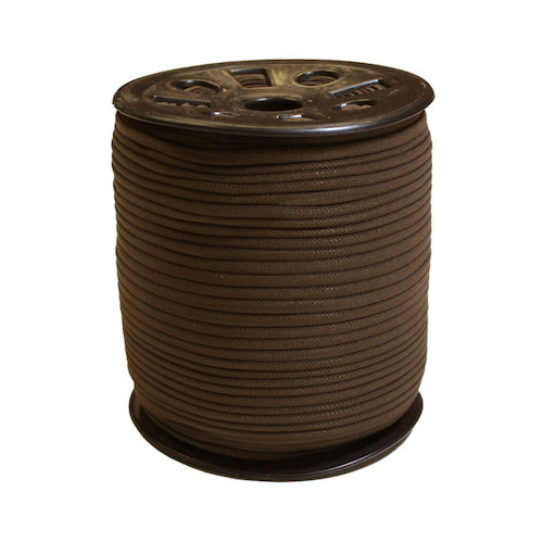 Brown Narrow Banded Elastic - 4mm x 92m