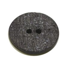 Acrylic Button 2 Hole Textured Speckle 18mm Slate