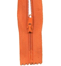 Make A Zipper Standard - 197in Long With 12 Zipper Pulls - Orange