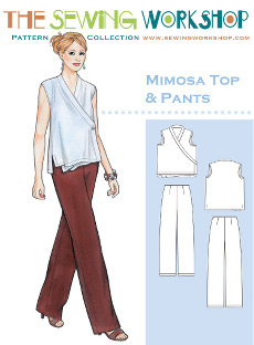 Mimosa Top & Pants Pattern By The Sewing Workshop