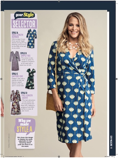 Sew Magazine Issue 130 - Wrap Frock