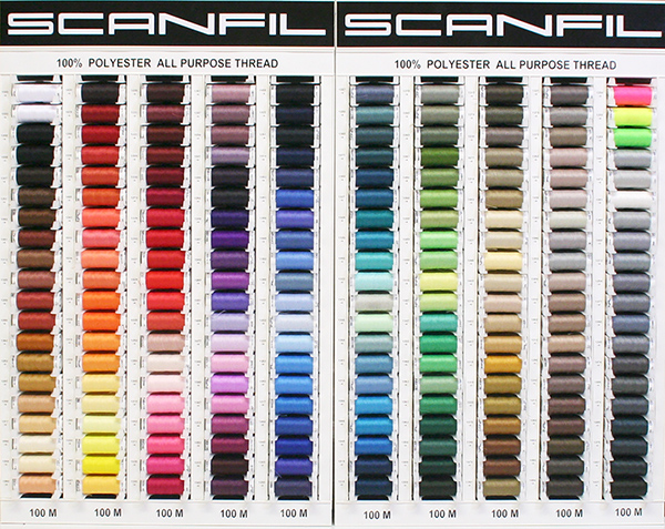 Scanfil Universal Sewing Thread Stand With 200 Colours