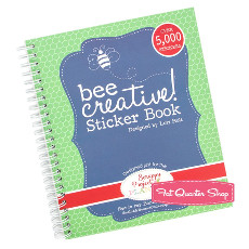 Bee Creative! Sticker Book By Lori Holt