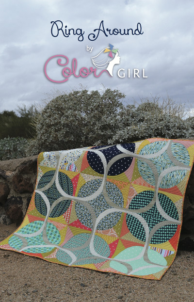Ring Around Quilt Pattern - Color Girl