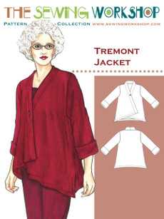 Tremont Jacket Pattern By The Sewing Workshop