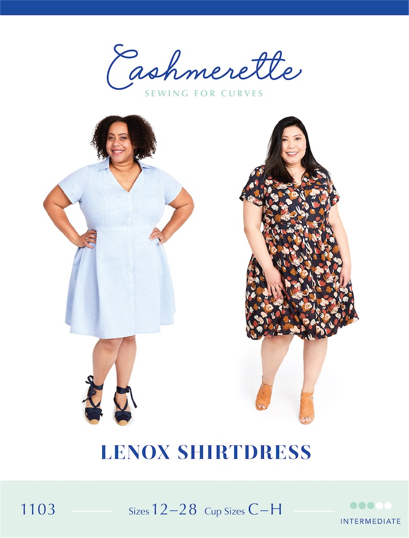 Lenox Shirtdress Pattern By Cashmerette