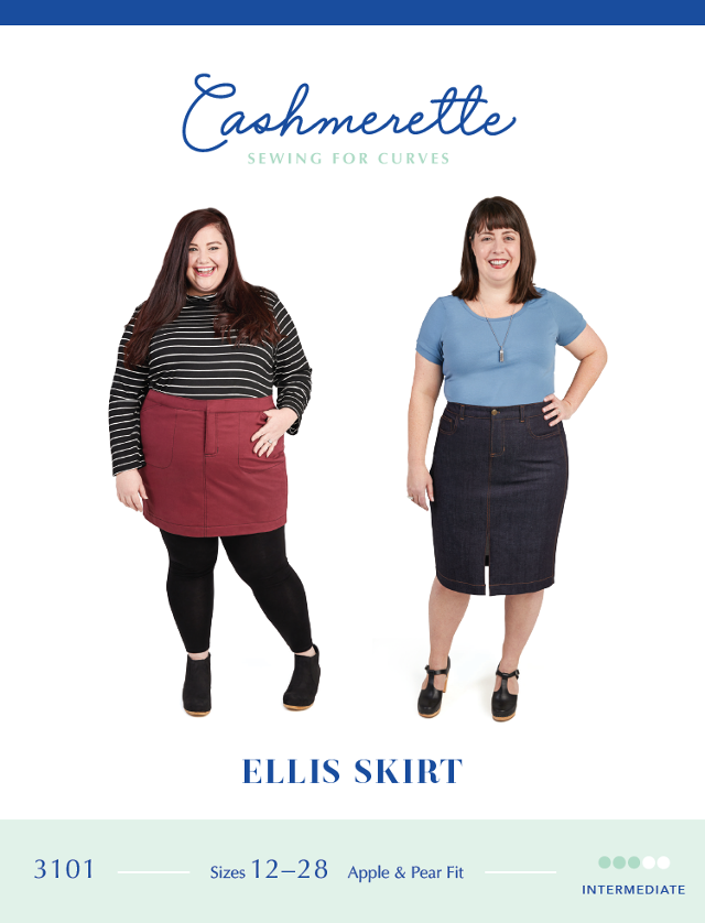Ellis Skirt Pattern By Cashmerette