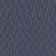 Casted Loops Denim Print - Art Gallery Fabric 58in/59in Per Metre, 100% Cotton, 4.5 Oz/sqm