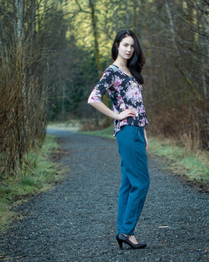 Camas Blouse Pattern By Thread Theory Designs