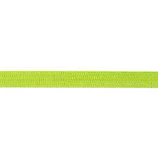 Lime Foldover Elastic - 16mm X 25m