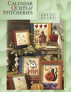 Calendar Quilts & Stitcheries Book