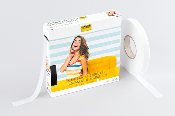 Vilene Flexible Seam Tape 15mm x 5m White