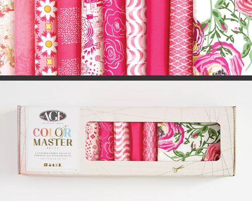 AGF Colormaster Half Yard Collectors Set - Life Is Pink Edition