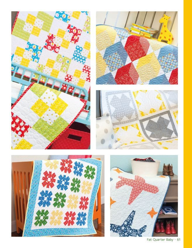 Fat Quarter Baby Book by Its Sew Emma
