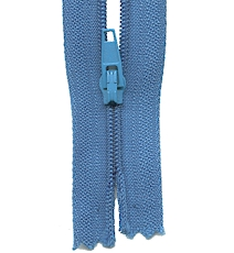 Make A Zipper Standard - 197in Long With 12 Zipper Pulls - Royal Blue