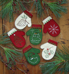Mittens - Felt Ornament Kits -6