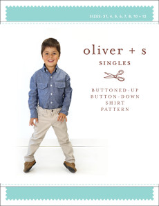 Oliver + S Pattern - Buttoned-Up Button-Down Shirt (3 - 12 years)