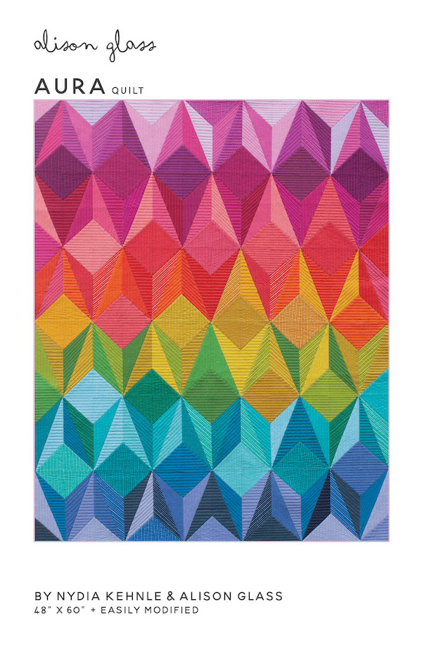 Aura Quilt Pattern By Alison Glass