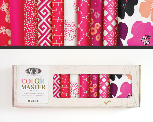 AGF Colormaster Fat Quarter Collectors Set - Pomegranate Tart Edition