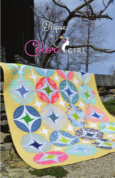 Eclipse Quilt Pattern - Color Girl