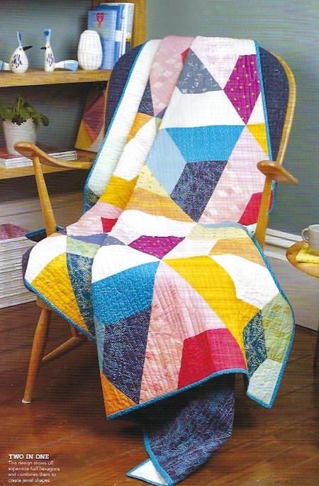 Love Patchwork & Quilting Issue 75 - Perfect Match Quilt