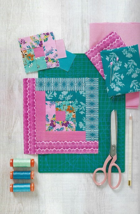 Love Patchwork & Quilting Issue 73 - Around We Go Quilt