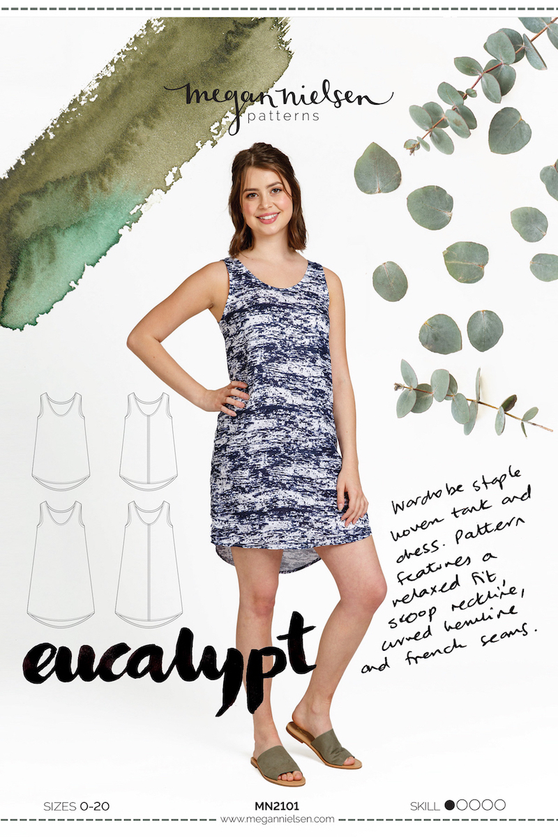Eucalypt Dress And Tank Pattern By Megan Nielsen