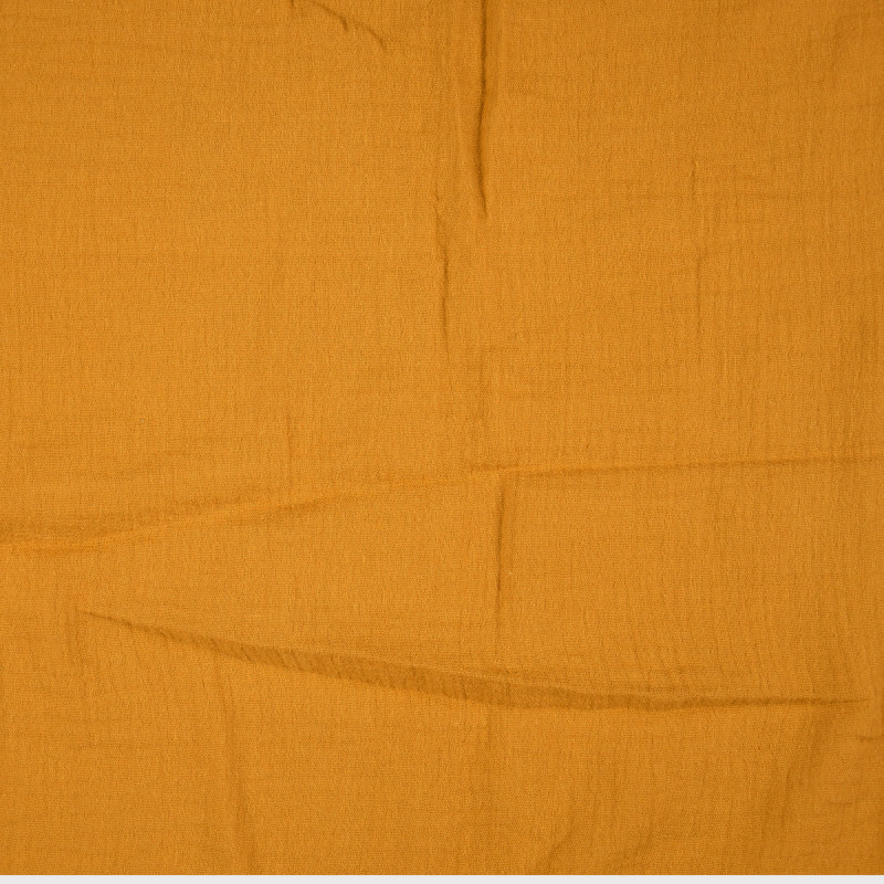 Ochre Double Gauze from Sakata by Modelo Fabrics