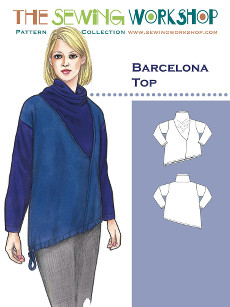 Barcelona Top Pattern By The Sewing Workshop
