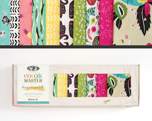 AGF Colormaster Jessica Swift No 1 Designers Palette Fat Quarter Collectors Box