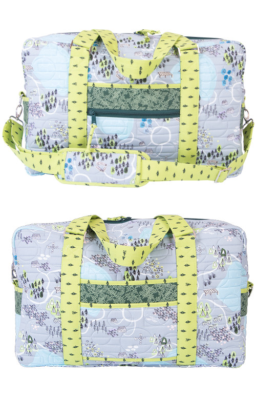 Round Trip Duffle Bag Pattern By Annies