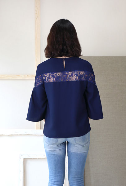 Afternoon Tea Blouse - Liesl + Co Pattern
