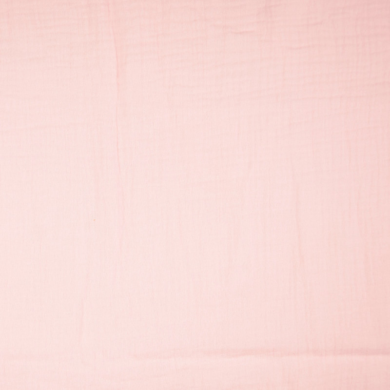 Pastel Pink Double Gauze from Sakata by Modelo Fabrics