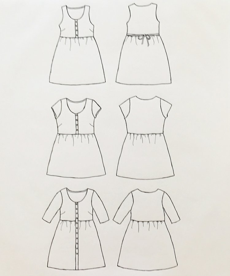 Hinterland Dress Sewing Pattern - Sew Liberated