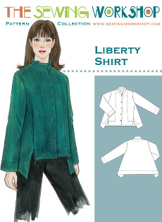 Liberty Shirt Pattern By The Sewing Workshop