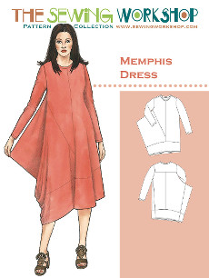 Memphis Dress Pattern By The Sewing Workshop